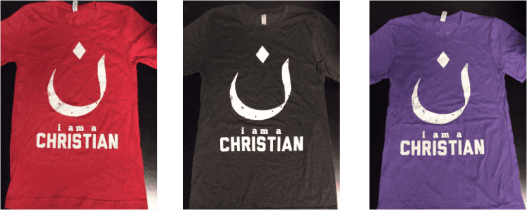 i am a christian t-shirts